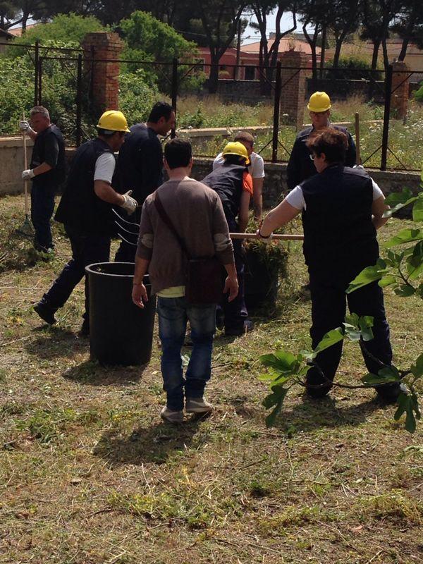 giardinieri a lavoro!